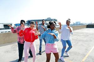 Dancing on Rooftop
