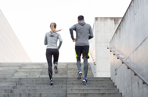Couple on a Run