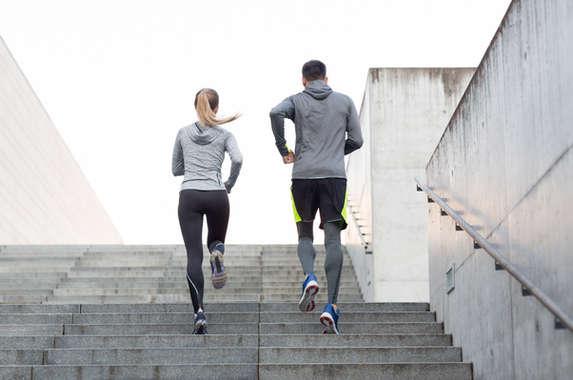 Couple on a Run