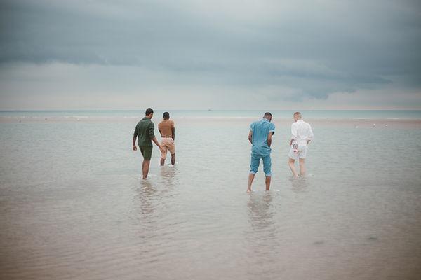 Men on Beach
