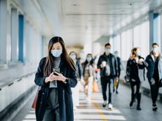 Distribution de masques lavables
