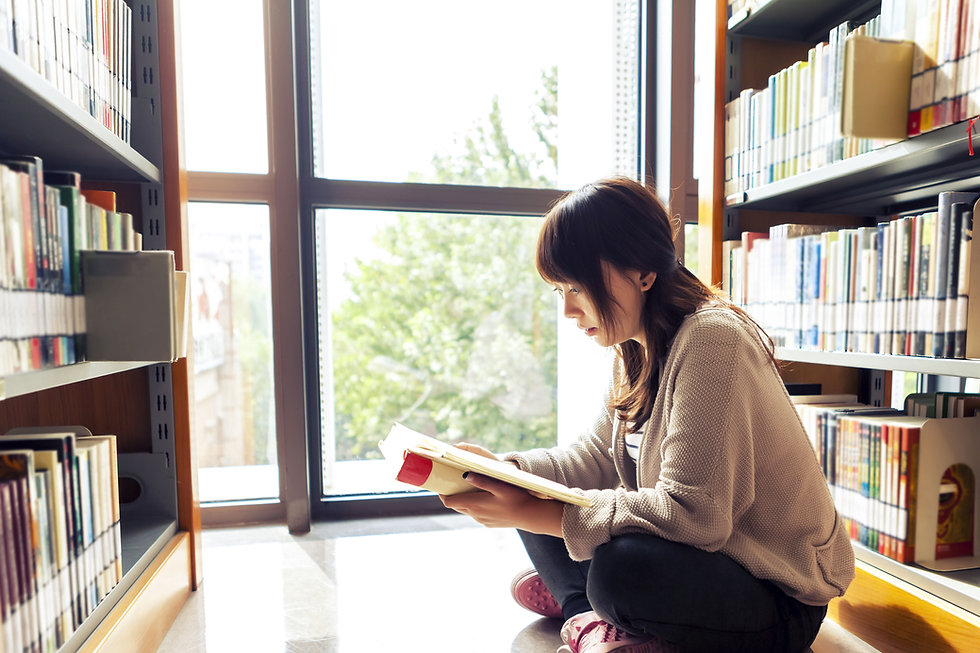 Library Book Reading