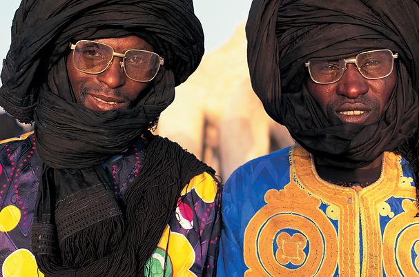 Tuareg Tribesman Portrait