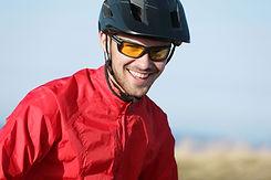 Man with Helmet