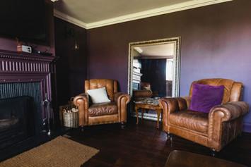 Purple Sitting Room