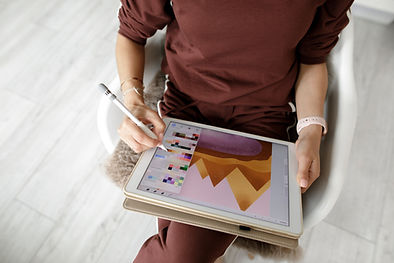 Kleuren op tablet