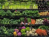 Fresh Produce a Rainbow of Healthy