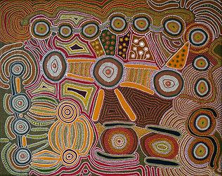 Aboriginal Style Dot Painting