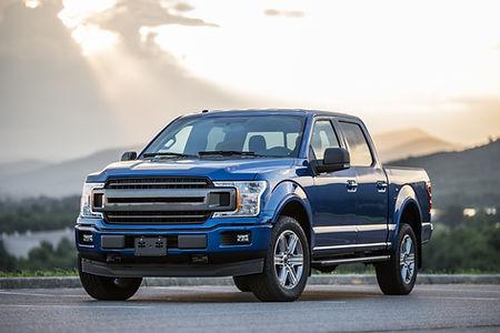 Blue Pickup Truck