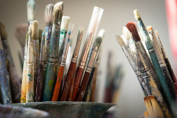 Dirty Paintbrushes