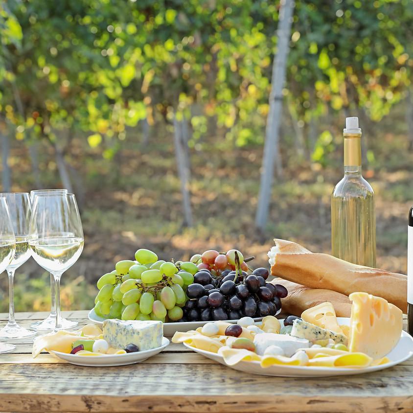 Online Tasting - Cheese & Wine