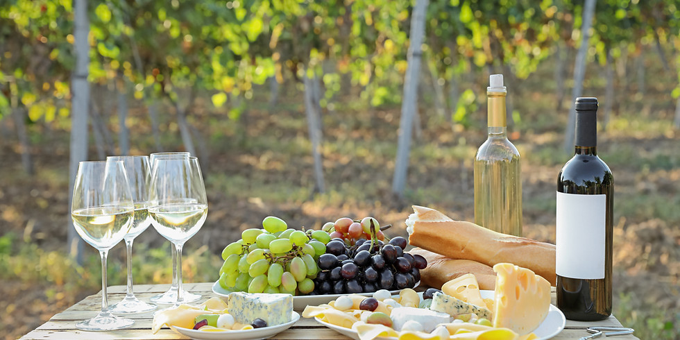 Online Wine Tasting - Wine & Cheese