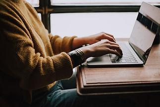 ノートパソコン作業