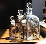 ガラス瓶のデザイン