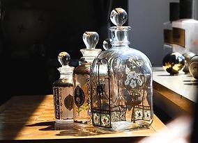 Glazen fles ontwerpen