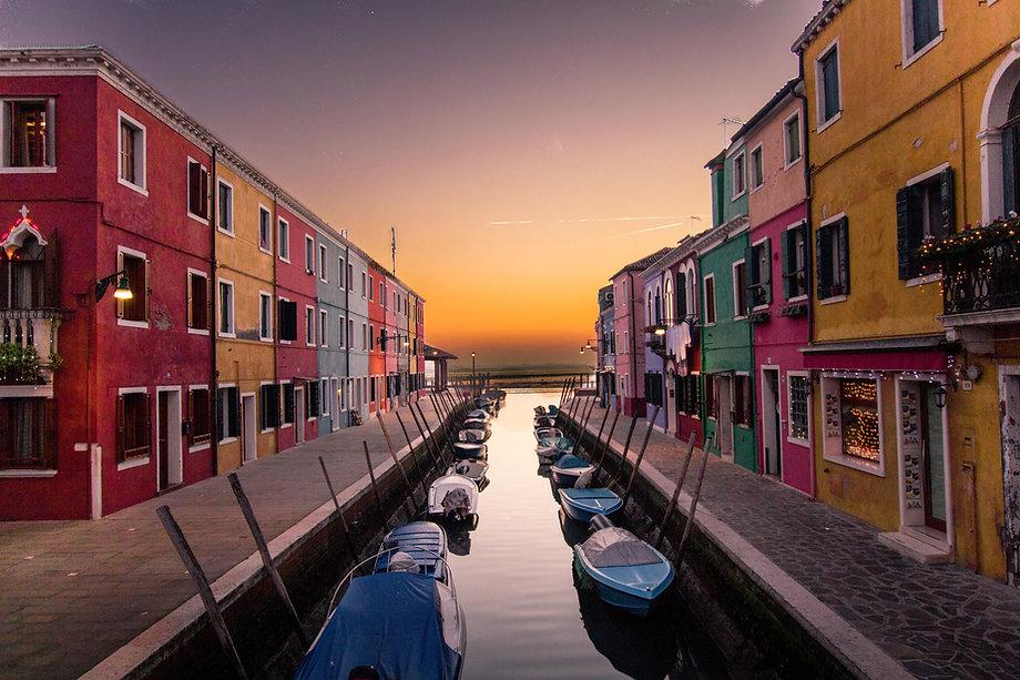 Edifici colorati