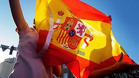 Spain Trip Planner Flag