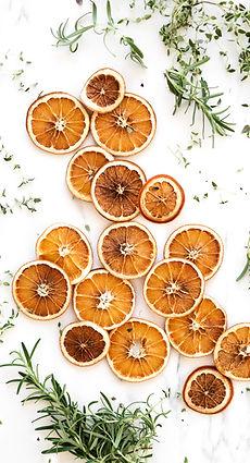乾燥オレンジ
