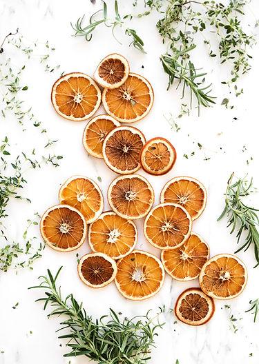 Gedroogde Sinaasappelen