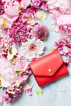 Clutch Purse and Flowers