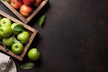 Cajas de manzana