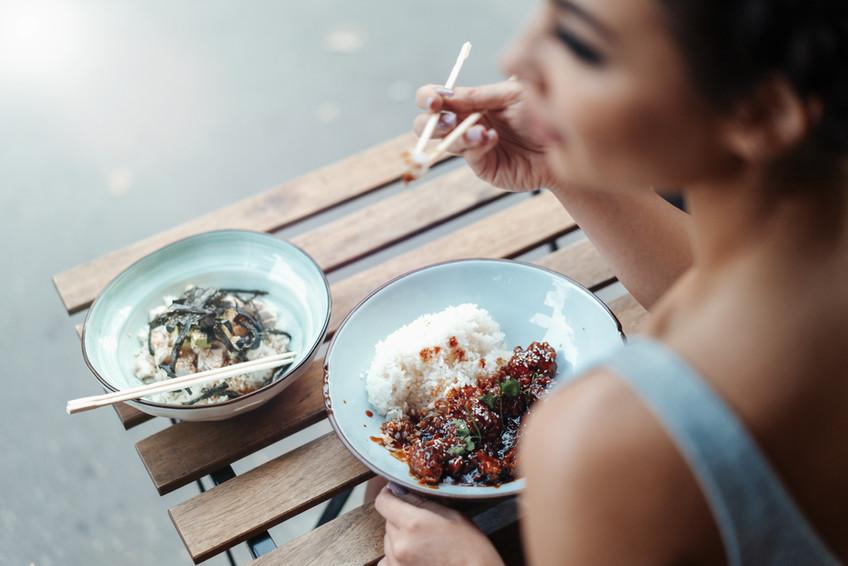 Korean Chicken & rice
