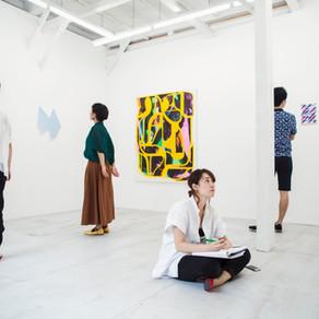 日本画の展示です。