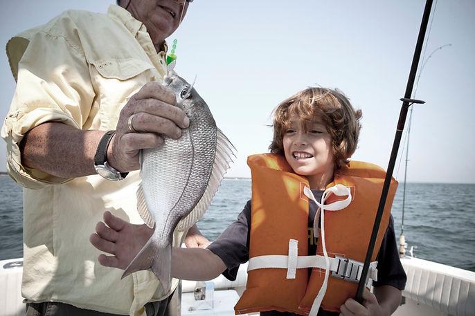 Pesca con el abuelo