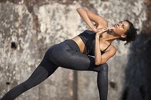 Outdoor Yoga Pose