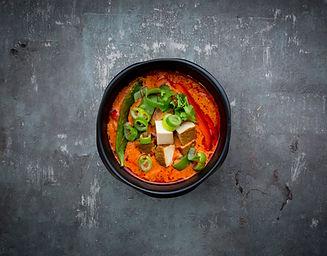 Curry rouge au tofu