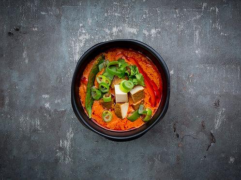 Sticky Tofu in Teriyaki sauce