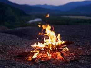 O fogo nas noites frias
