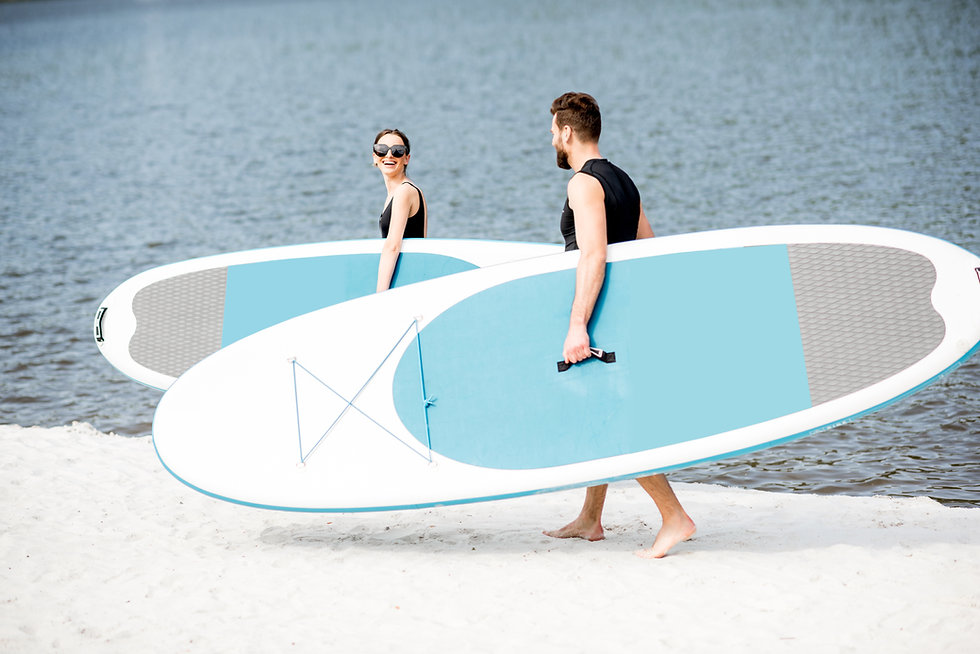 Couple with Boards