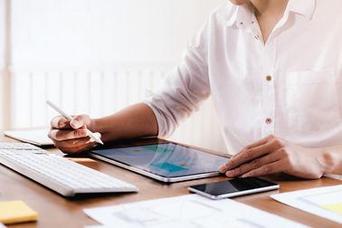 Diseñando en una tablet