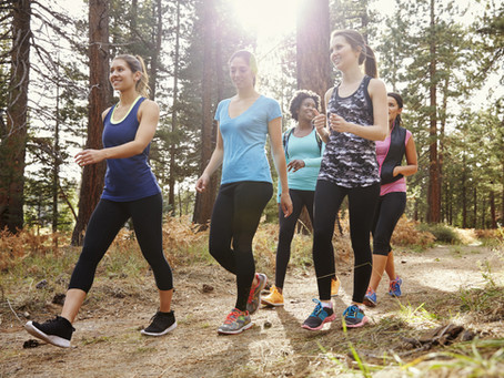 All the benefits of regular walking