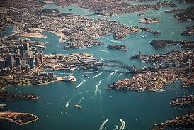 オーストラリア空中写真