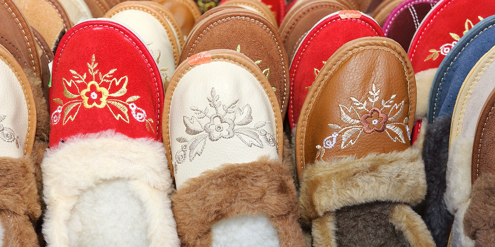 Slippers (Shoe size 10)
