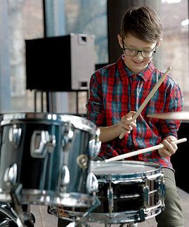 Feliz baterista