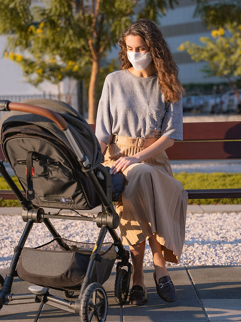 A victim is hoping for a stroller for her toddler