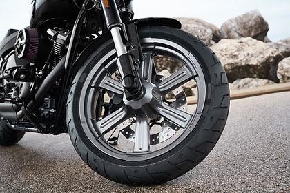 オートバイの車輪