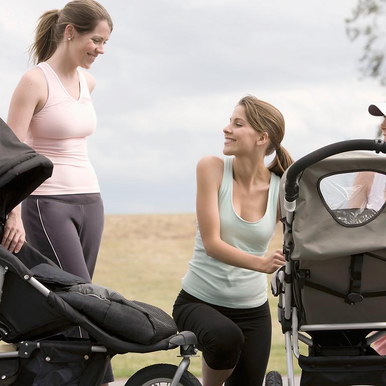 New Mom Stroller Walk Meet Up