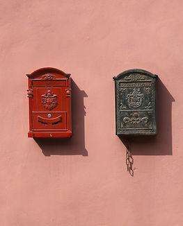 Buzón de correos vintage