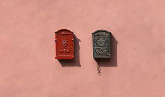 Vintage brievenbus