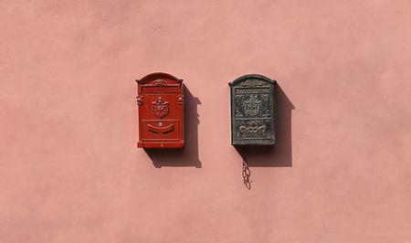 Caixa postal vintage