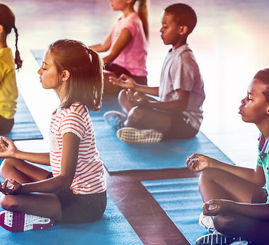 Écoliers, méditer