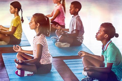 Kids Yoga & Mindfulness Drawing- Friday