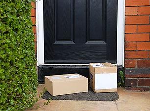 Pakketten aan de deur
