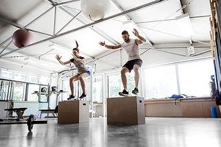 Jumping on Box