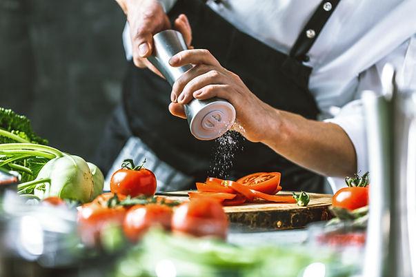 Saler les légumes