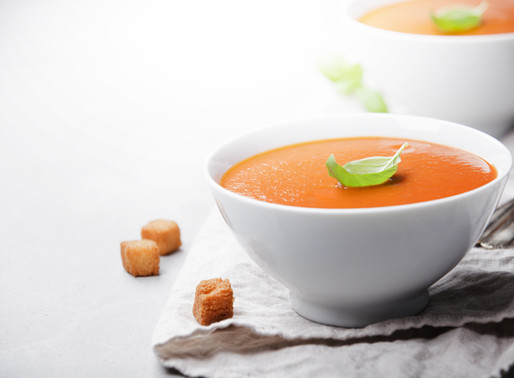 Vegan Tomato and Basil Soup Recipe
